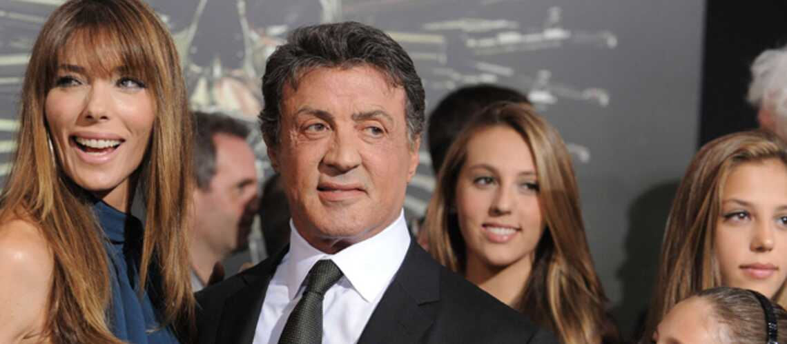 Sylvester Stallone: un vrai papa poule