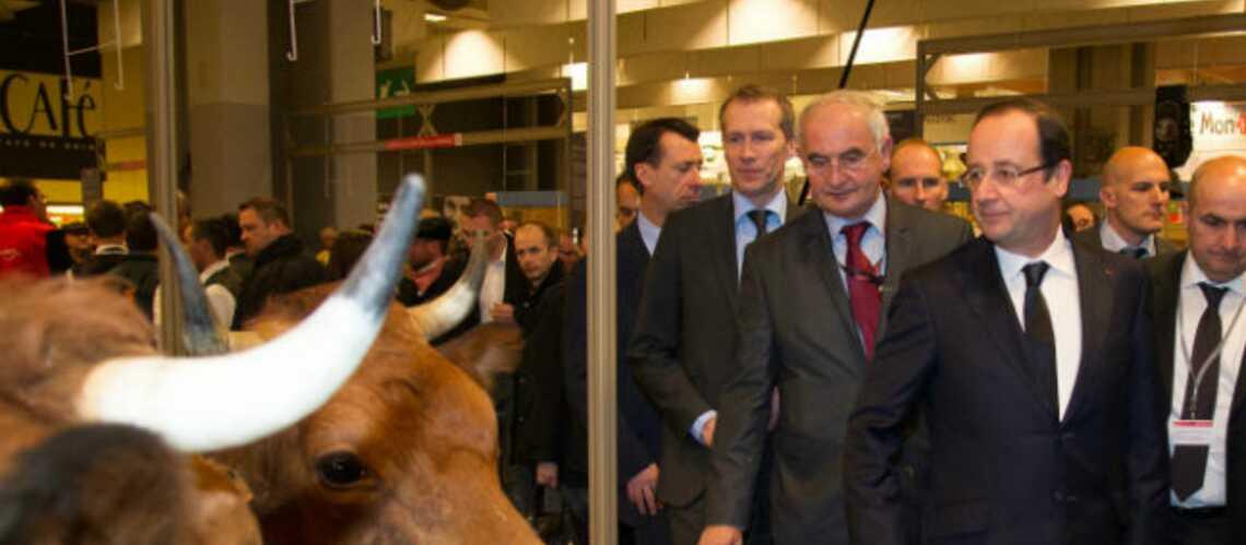 Salon de l'Agriculture: François Hollande dans le plus pur style chiraco-corrézien