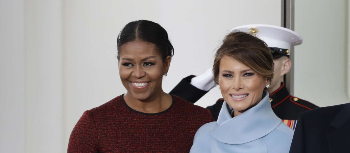 Voici ce que contenait la boite Tiffany offerte en cadeau à Michelle Obama par Melania Trump