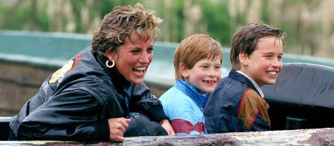 Les princes William et Harry obsédés par leur dernier coup de fil à leur mère, Lady Di