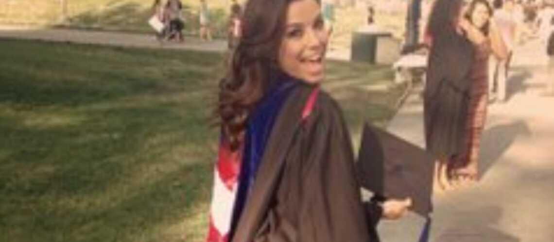 Eva Longoria diplômée!
