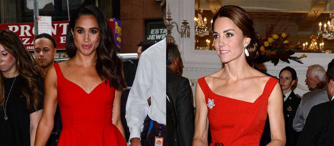 PHOTOS – Pourquoi Meghan Markle copie le style de Kate Middleton