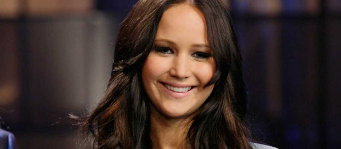 Jennifer Lawrence très entraînée