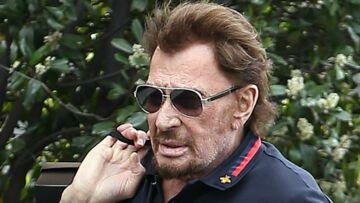 PHOTO – Johnny Hallyday rassure ses fans, en route vers le studio d'enregistrement