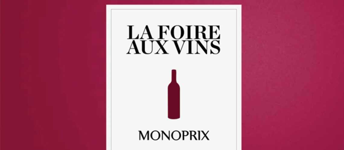 Monoprix fait sa foire au vin