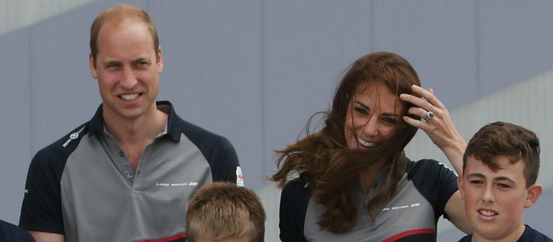 Coupe de l'America: Kate et William applaudissent l'équipe britannique victorieuse