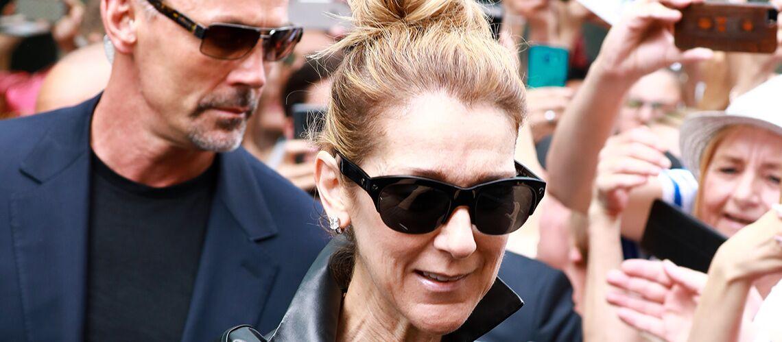 PHOTOS – Céline Dion en cuir, Pepe Munoz à ses côtés