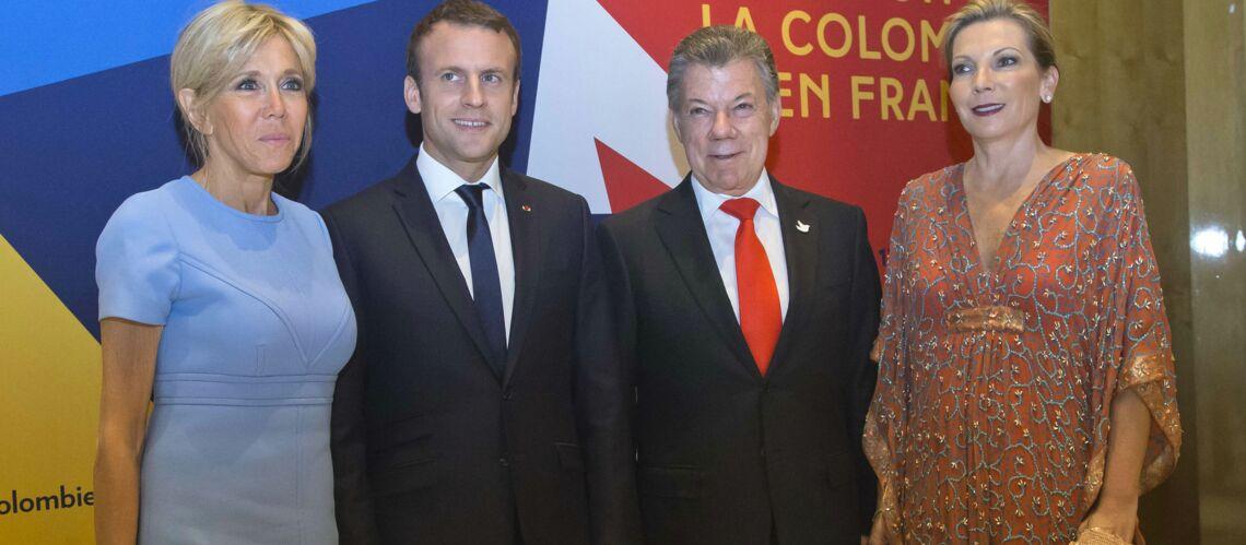 PHOTOS – Comme Kate Middleton, Brigitte Macron recycle ses tenues
