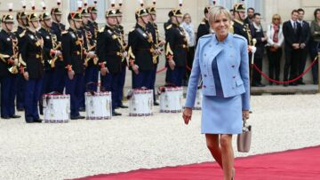 PHOTOS – Le prochain sac de Brigitte Macron signé Delvaux?