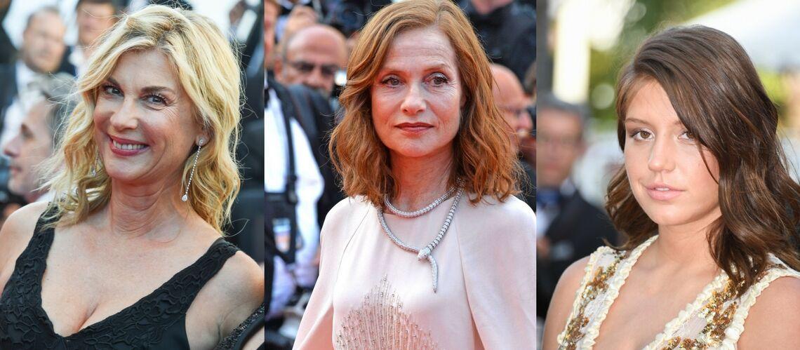 PHOTOS – Cannes 2017: Michèle Laroque, Isabelle Huppert… La tendance est aux cheveux lâchés