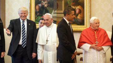 PHOTOS – Melania Trump imite Michelle Obama lors de sa rencontre avec le Pape