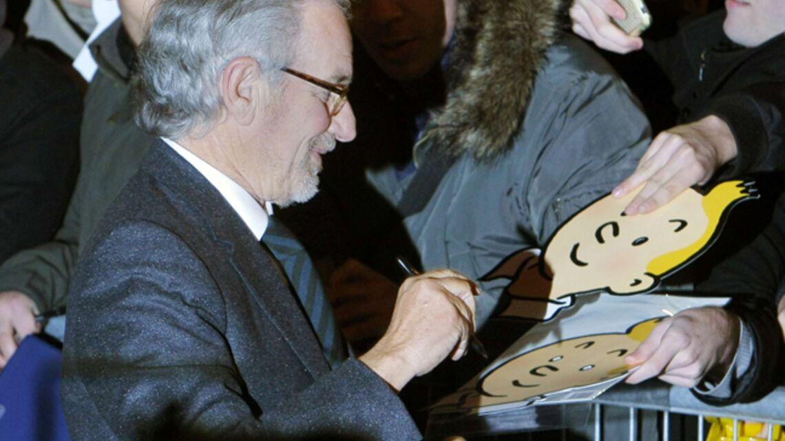 Vidéo – Steven Spielberg: promo colossale de Tintin en Europe