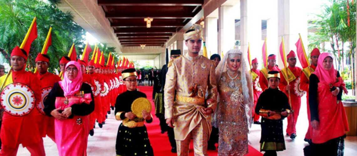 La fille du Sultan de Brunei a dit oui