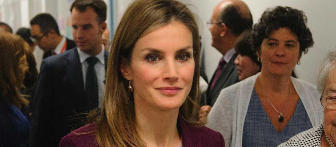 Letizia d'Espagne retourne à l'école