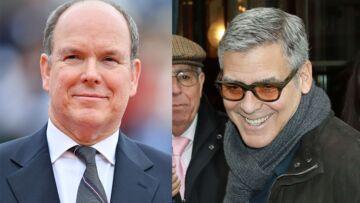 Le prince Albert de Monaco conseille George Clooney pour l'arrivée de ses jumeaux