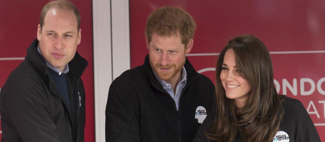 Kate Middleton voudrait que William prennne exemple sur son frère Harry