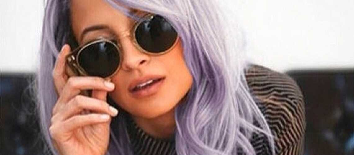 Nicole Richie, mauve is in the hair
