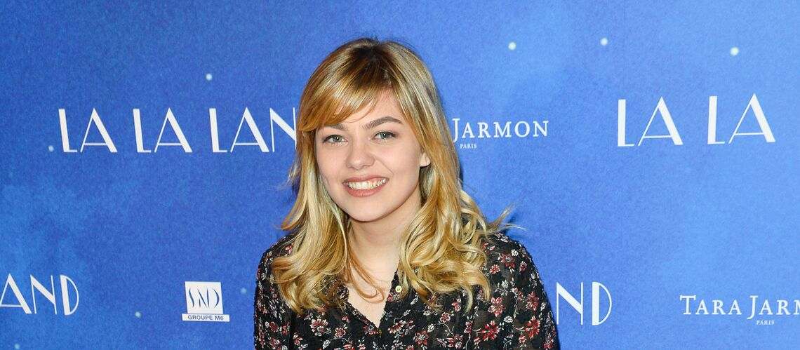 photo louane passe du blond au brun pour un film gala. Black Bedroom Furniture Sets. Home Design Ideas
