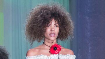 PHOTOS – Vincent Cassel: sa petite amie, Tina Kunakey, a défilé pour Jean Paul Gaultier