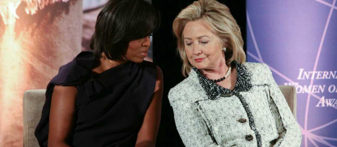Michelle Obama et Hillary Clinton: alliées, malgré elles