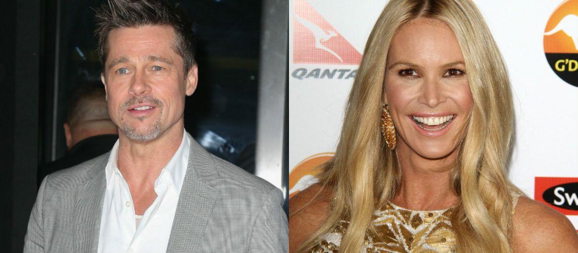 Brad Pitt et Elle MacPherson ensemble? Les rumeurs enflent autour des deux célibataires