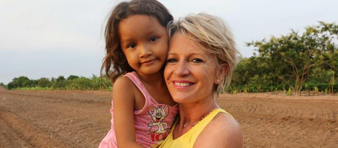 Sophie Davant: «Keo Pissey, mon enfant de coeur»