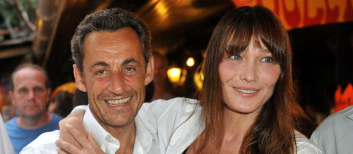 Les Sarkozy ont fêté les un an de Giulia