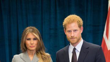 PHOTO – L'étrange geste de la main du prince Harry avec Melania Trump expliqué