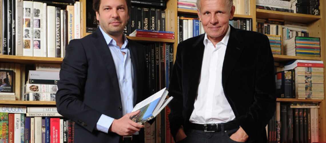 Patrick et Arnaud Poivre d'Arvor, père et fils enfin réunis