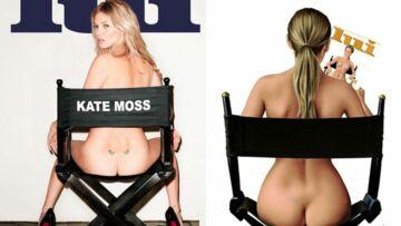 Kate Moss dans le fauteuil de Romy