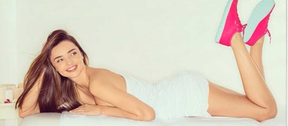 Miranda Kerr: une nouvelle collaboration avec Reebok