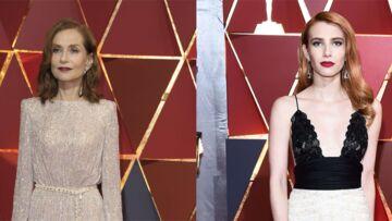 Isabelle Huppert: quand Emma Roberts a manqué de lui déchirer sa robe sur le tapis rouge des Oscars