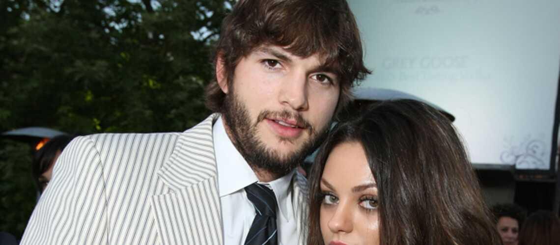 Ashton Kutcher veut garder secrète son idylle avec Mila Kunis