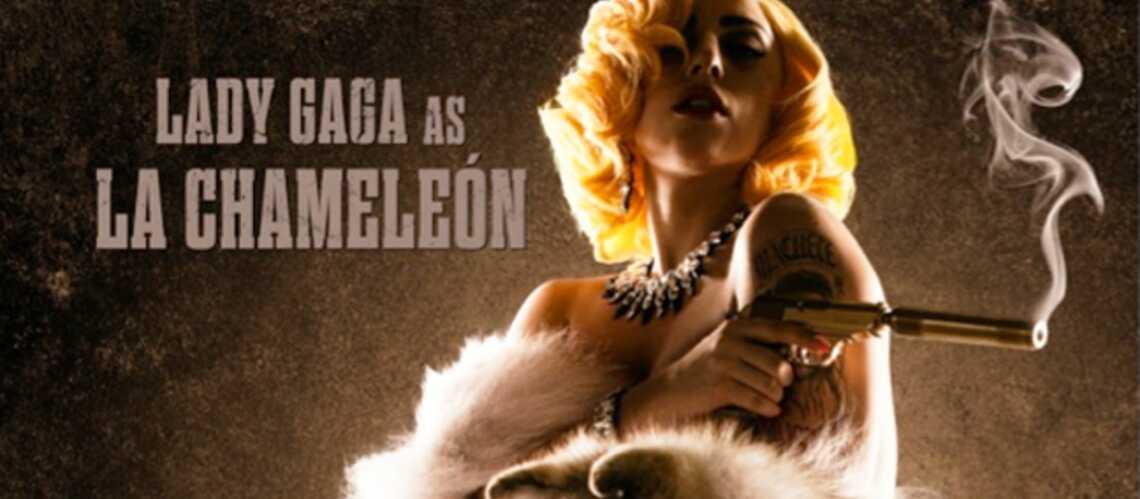 Lady Gaga fait aussi dans la vamp de cinéma
