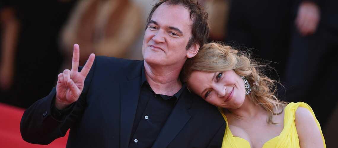 Quentin Tarantino et Uma Thurman: love fiction