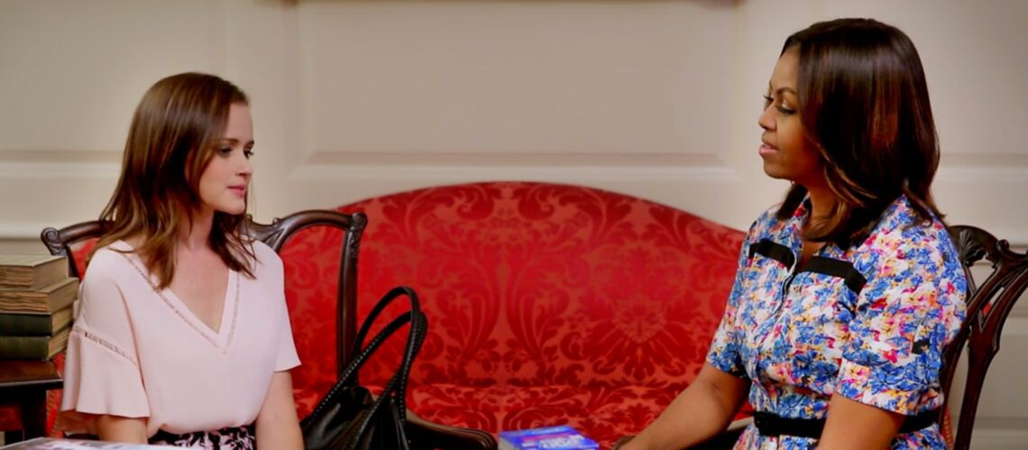 Michelle Obama rejoint les Gilmore Girls