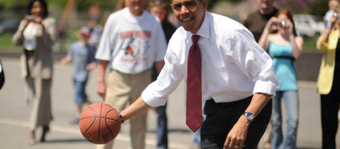 Barack Obama se retire des terrains