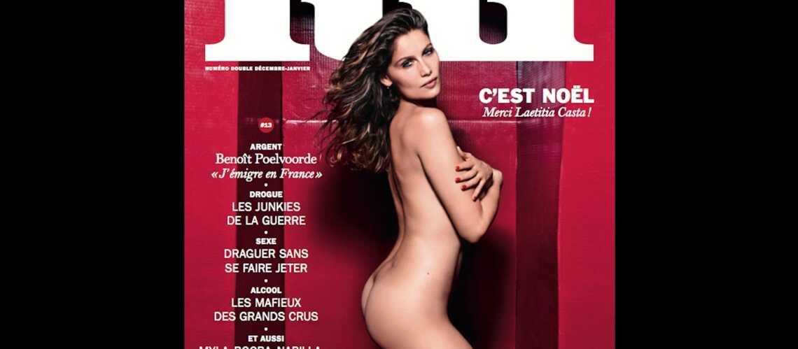 Laetitia Casta nue en couverture du magazine Lui