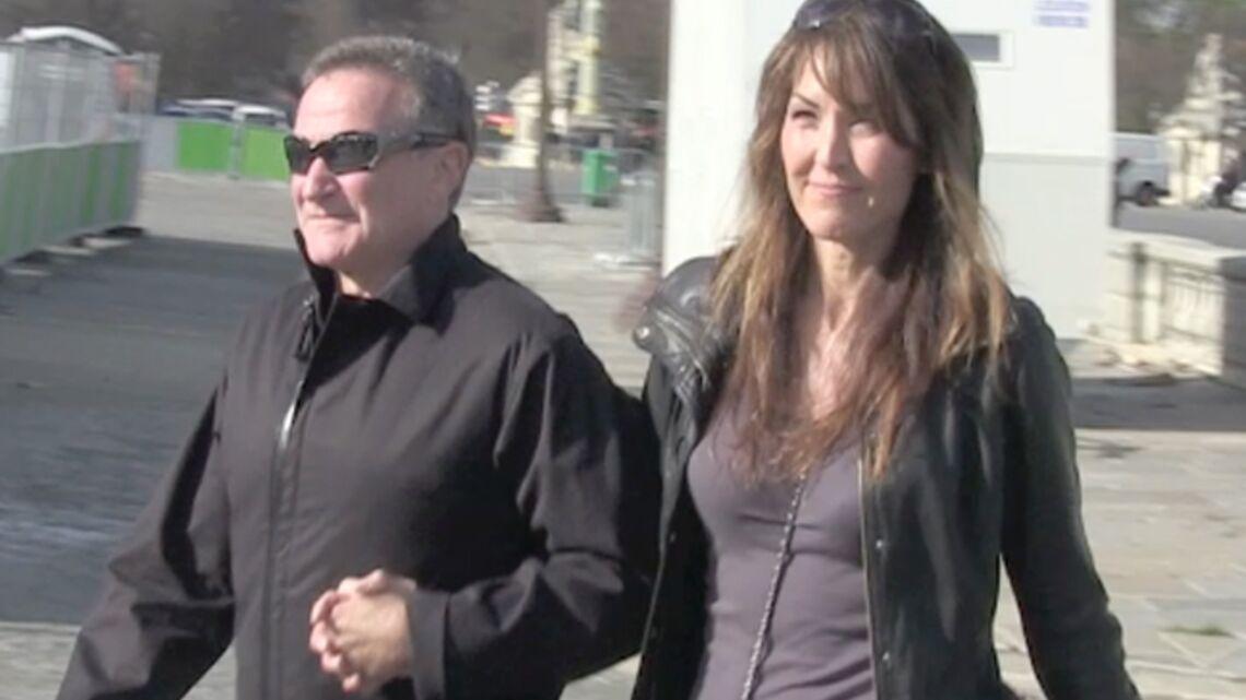 Vidéo: Robin Williams en lune de miel à Paris