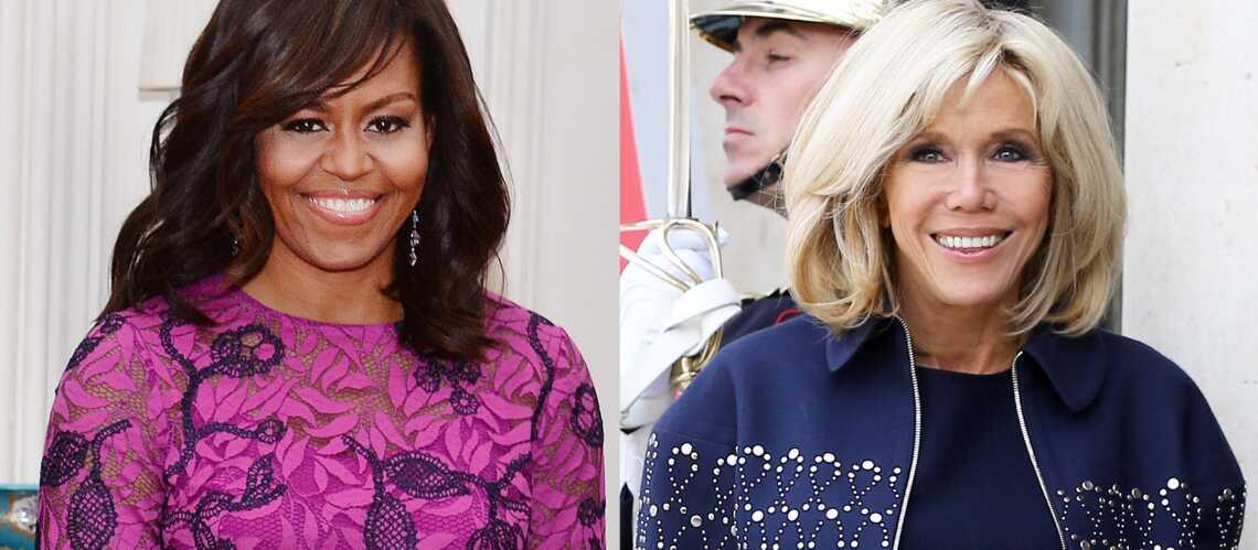 Découvrez l'autre point commun entre Brigitte Macron et Michelle Obama