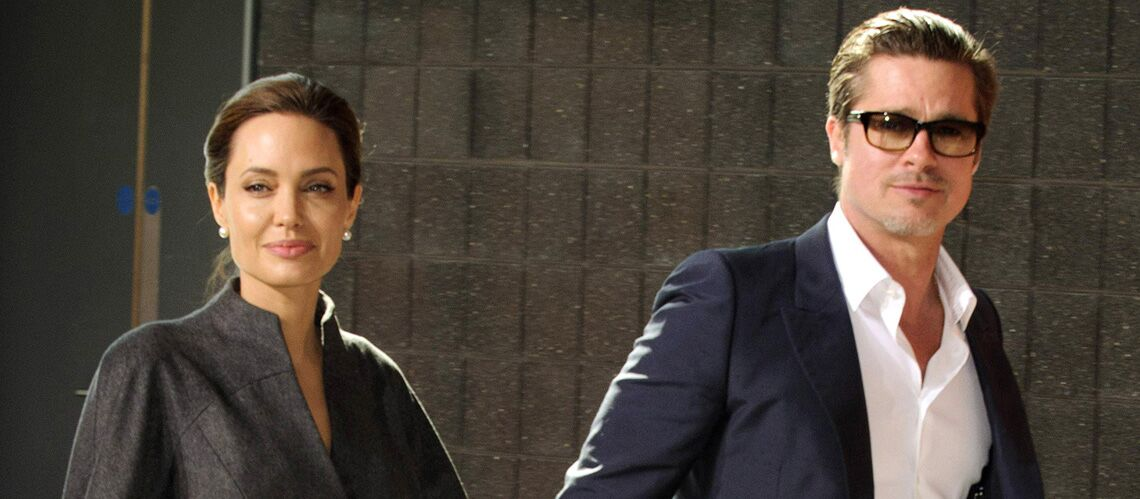 Photos – Angelina Jolie et Brad Pitt: neuf ans d'amour