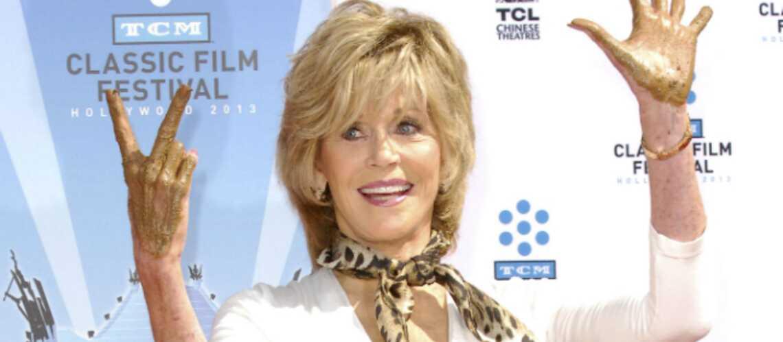 Jane Fonda coulée dans le béton