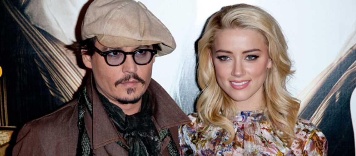 Johnny Depp et Amber Heard: leur mariage prévu dans une semaine