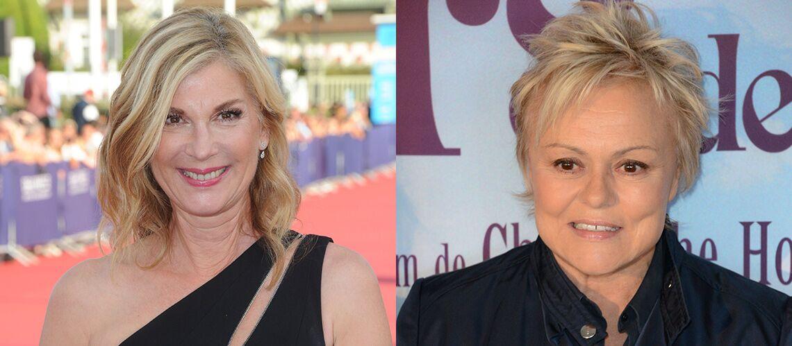 Michèle Laroque et Muriel Robin: «Si on peut aider en montrant un couple de filles à la télévision, tant mieux!»