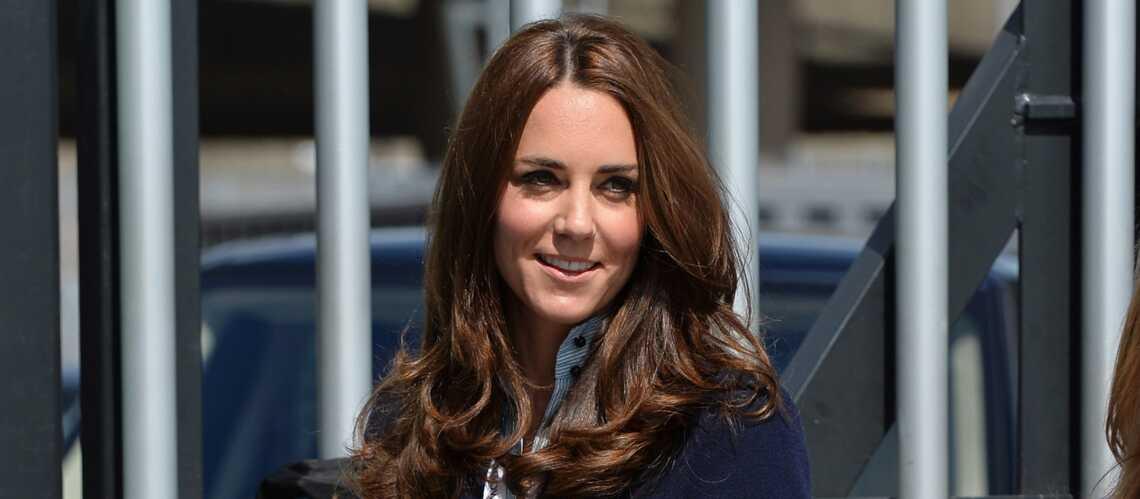 Princesse Kate en mode preppy