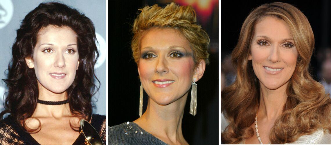 PHOTOS – Céline Dion fête ses 49 ans: toutes ses coupes de cheveux à travers les années
