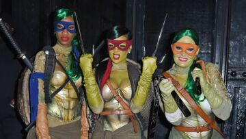 PHOTOS – Rihanna, Laeti­cia Hally­day, Kendall Jenner… Leurs plus beaux costumes d'Hallo­ween