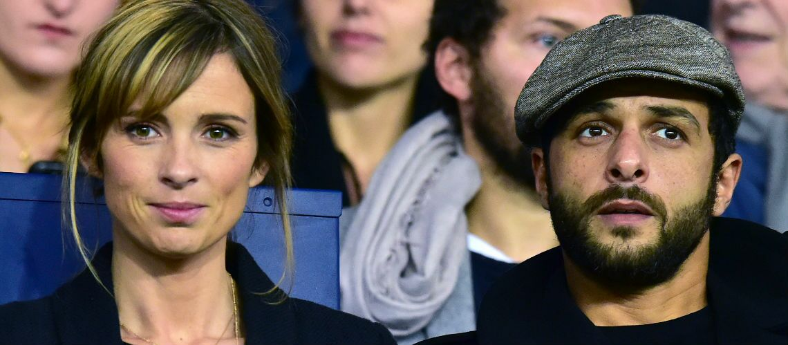 PHOTOS – Maxim Nucci et sa belle Isabelle Ithurburu: le couple complice au Parc des Princes