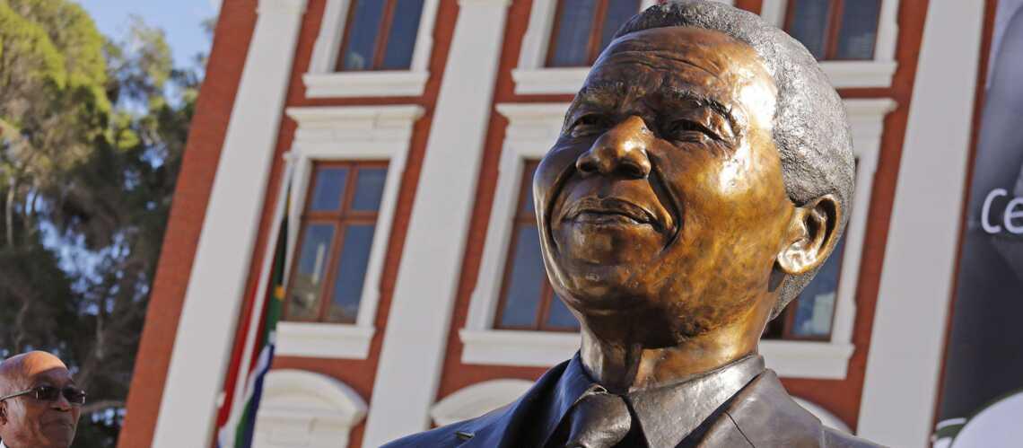 Nelson Mandela immortalisé