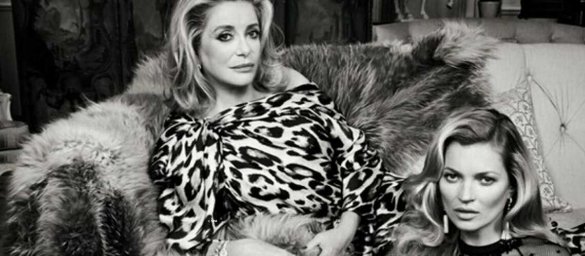 Cathe­rine Deneuve et Kate Moss, paren­thèse mode inat­ten­due